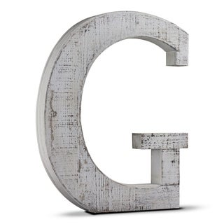 Wood Letter Hanging Initial G