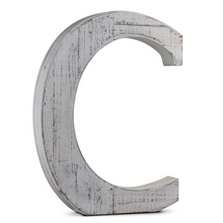 Wood Letter Hanging Initial C