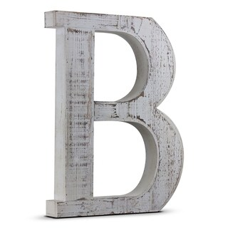 Wood Letter Hanging Initial B