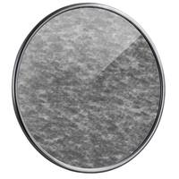 American Art Decor Round Silver Antiqued Framed Wall Mirror - Antique Silver