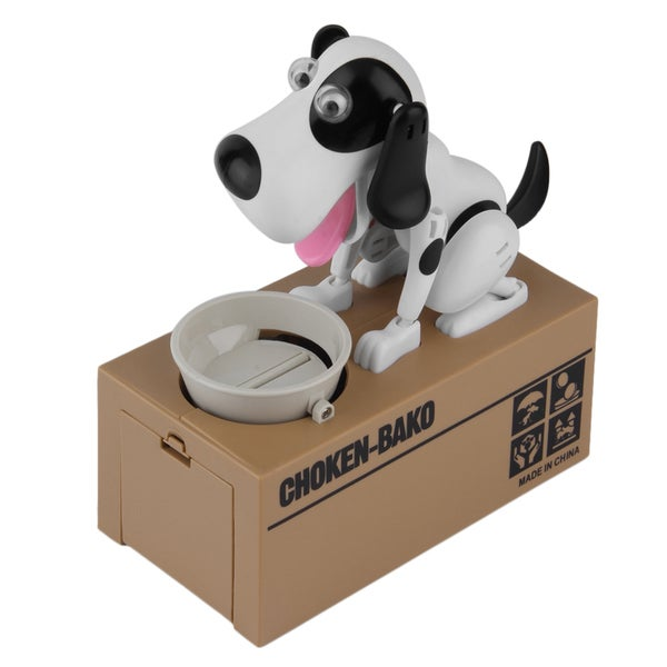 Cute Dog Model Piggy Bank Money Save Pot Coin Box Creative Gift