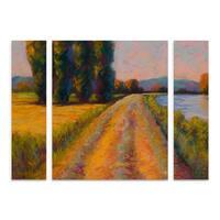 Marion Rose 'The Levee' Multi Panel Art Set