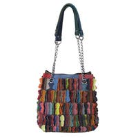 Amerileather Papillion Leather Handbag