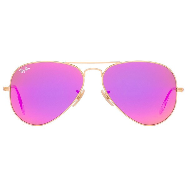 ray ban sonnenbrille aviator rosa