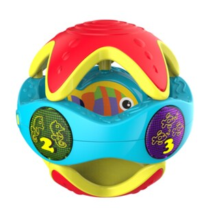 Kidz Delight Peek-a-Boo Rattle Ball