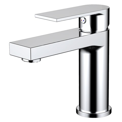 EVIVA Pure Single Handle Bathroom Sink Faucet (Chrome)