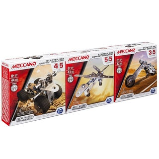 Meccano Bundle Set of 3