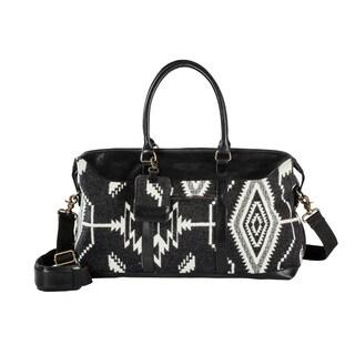 Pendleton Tsi Mayoh Black Getaway Duffel Bag