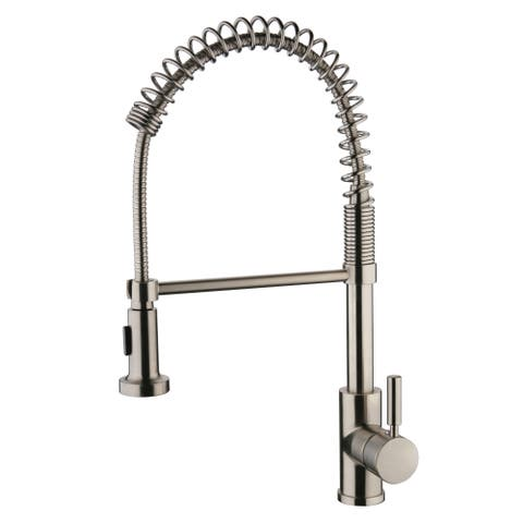 Yosemite Home Décor Spring Pull-out Kitchen Faucet