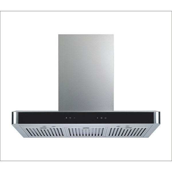 "Winflo 36"" 750CFM 5 Speed Convertible Stainless Steel Wall Mount Range Hood"