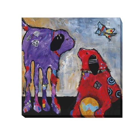 Jenny Foster 'Play Day' Gallery-wrapped Canvas Giclee Art