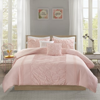 Intelligent Design Shayda Blush 5-piece Comforter Set