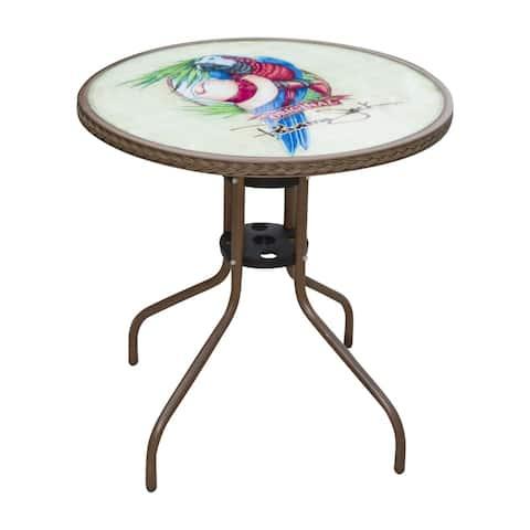 Panama Jack Café Parrot Bistro Table