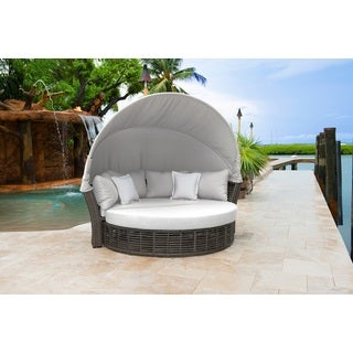 panama jack graphite resin canopy daybed