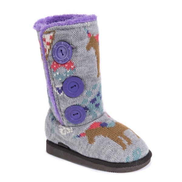 c5d4ce8d92a8 Shop MUK LUKS® Girl s Malena Boots - Free Shipping On Orders Over ...