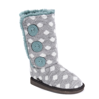 Girl's Malena Boots - Grey/Teal
