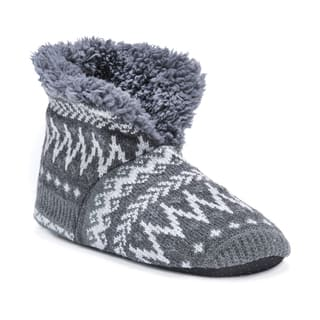 MUK LUKS® Men's Slipper Booties|https://ak1.ostkcdn.com/images/products/17033724/P23311737.jpg?impolicy=medium