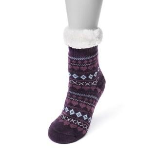 MUK LUKS® Women's 1-Pair Fluffy Cabin Socks
