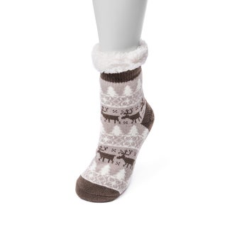 MUK LUKS® Women's 1-Pair Fluffy Cabin Socks