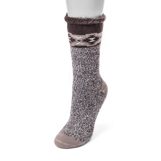 MUK LUKS® Women's 1-Pair Heat Retainer Thermal Socks