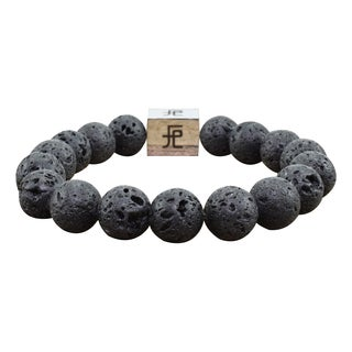 Men's Natural Healing and Calming Beaded Bracelet by Pink Box (More options available)