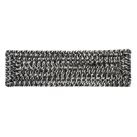 Vibrant Tweed Reversible Braided Stair Tread (Single)