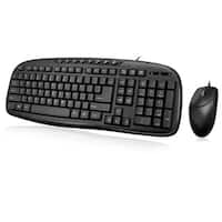 Adesso EasyTouch AKB-133CB Desktop USB Multimedia Keyboard and Mouse