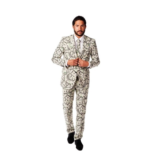 OppoSuits Mens Cashanova Money Suit