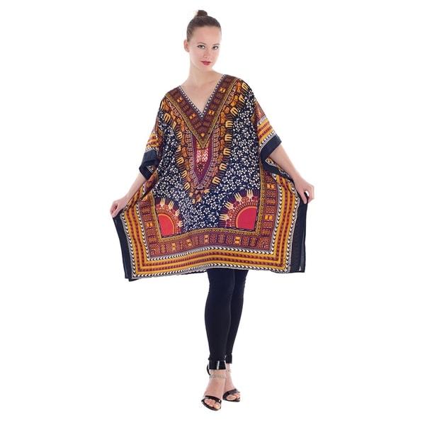 18ece45e1f2896 Shop Womens Plus Size Dresses Casual Blouse Kaftan Tunic Tops - Free ...