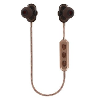 Bluetooth V4.1 Wireless Headset Sports Sweat Proof Stereo Bass Dual Driver Speakers CSR Voice Control Headphone