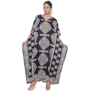 Caftan Dress Long Maxi paisley Print Plus Size