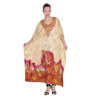 Long Maxi Plus Size Boho Kaftan Cover up