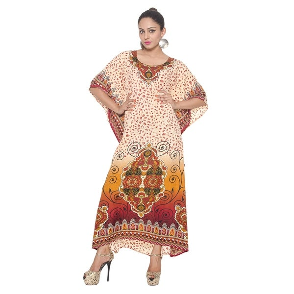 496cd6ced9a6c Shop In Vogue Plus Size Comfortable Caftans Dresses - Free Shipping ...