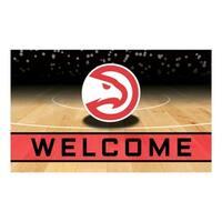 "NBA - Atlanta Hawks 18""x30"" Rubber Door Mat"