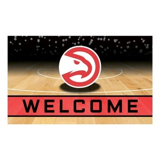 "NBA - Atlanta Hawks 18""x30"" Rubber Door Mat (More options available)"