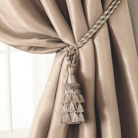 Elrene Charlotte Tassel Curtain Tieback Rope