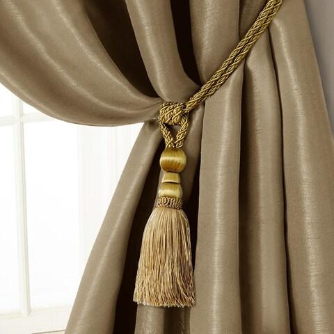 Elrene Amelia Tassel Curtain Tieback Rope
