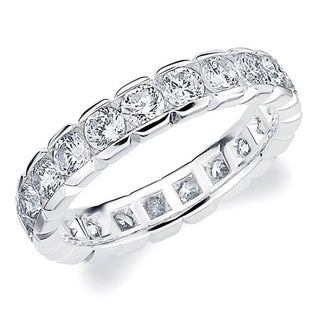 Amore 10K White Gold 2.0 CTTW Eternity Diamond Wedding Ring - White I-J