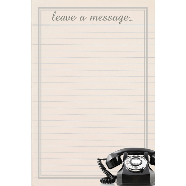 Vintage Leave A Message Giant Dry Erase Decal