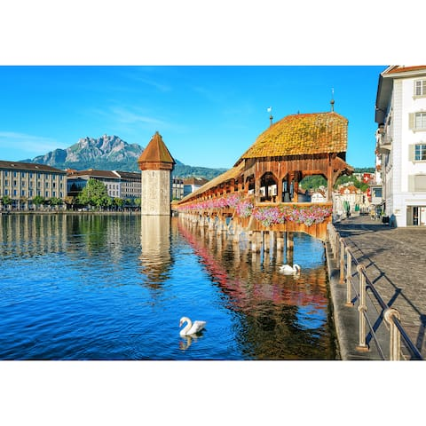 Lucerne Switzerland Wall Mural