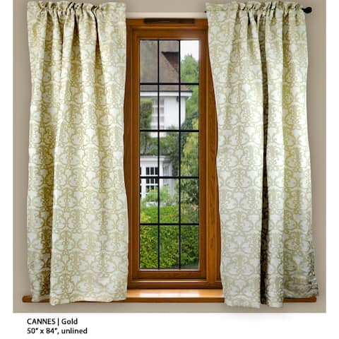 Cannes 84-inch Rod Pocket Curtain Panel