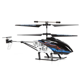 Nano Hercules Unbreakable Helipilot 2.4GHz 3.5CH RC Helicopter - Black