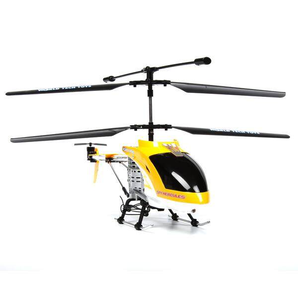 Shop Spy Hercules Camera Unbreakable 3 5ch Remote Control Helicopter Yellow Overstock 17037533