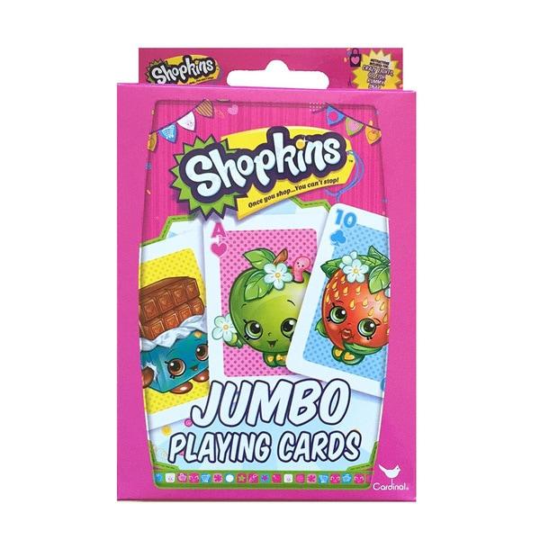 Shopkins Jumbo Playing Cards