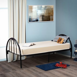 Fortnight Bedding 4-inch Twin-size Foam Mattress with Water Resistant Vinyl Cover