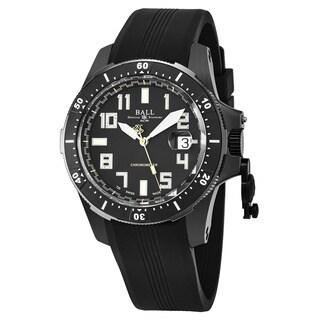 Ball Men's DM2176A-P1CAJ-BK 'Engineer Hydrocarbon' Black Dial Black Rubber Strap Swiss Automatic Watch