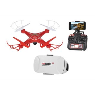 Striker FPV Live View 4.5CH 2.4GHz RC Drone - Red