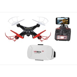 Striker FPV Live View 4.5CH 2.4GHz RC Drone - Black