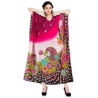 Goood Times Caftan Dress Long Maxi Plus Size Boho Kaftan Cover up