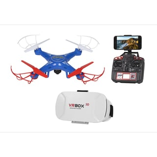 Striker FPV Live View 4.5CH 2.4GHz RC Drone - Blue